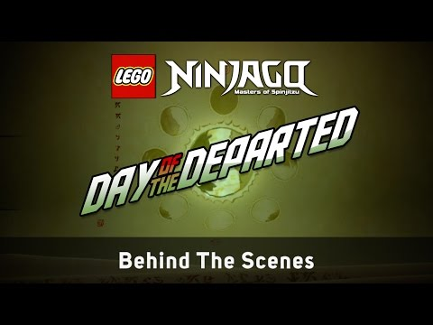 """LEGO NINJAGO Making The Video """"Day of the Departed"""" by The Fold"""