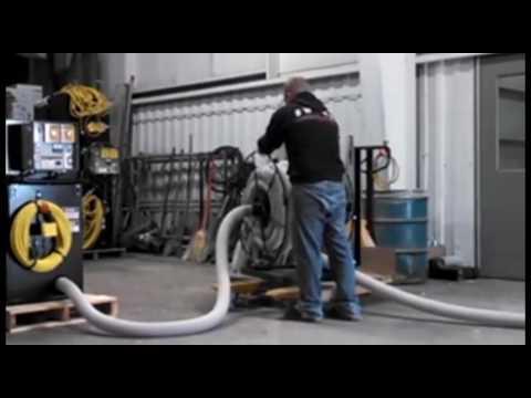Live Hose Reel for Insulation Machines & Live Hose Reel for Insulation Machines - YouTube