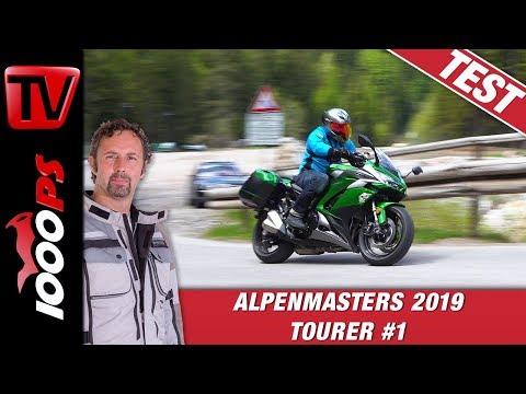 Kawasaki Z1000 SX 2019 im Alpenmasters Vergleich - Tourer Folge 1/4