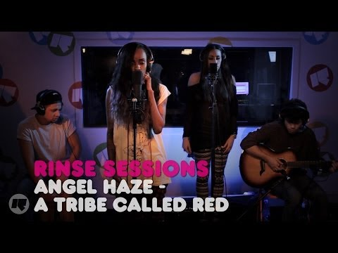 Angel Haze - A Tribe Called Red — Rinse Sessions