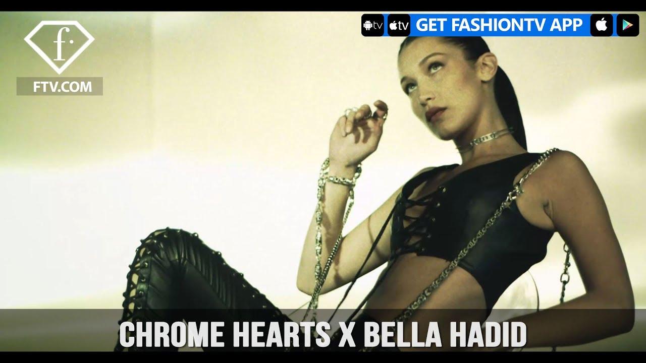 Chrome Hearts X Bella Hadid Fashiontv