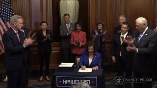 La Cámara de Representantes de EEUU aprueba el histórico paquete de ayudas