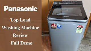 Panasonic Top Load Fully Automatic Washing Machine - Review and Demo