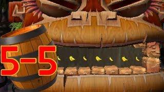 Donkey Kong Country Returns 3D: World 5-5 Longshot Launch