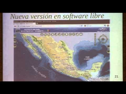 8th International gvSIG Conference: Digital Map of Mexico