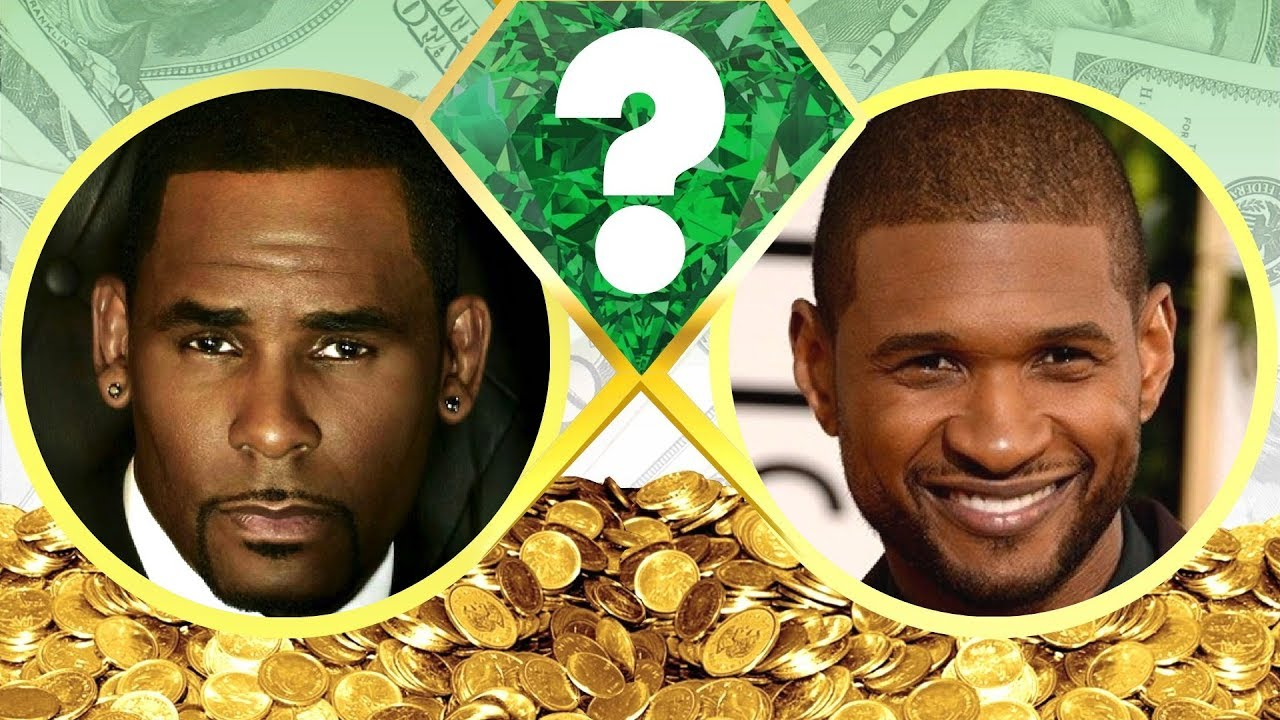 WHO'S RICHER? - R. Kelly or Usher? - Net Worth Revealed ...