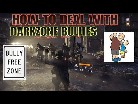 The Division HOW TO DEAL WITH DARKZONE BULLIES