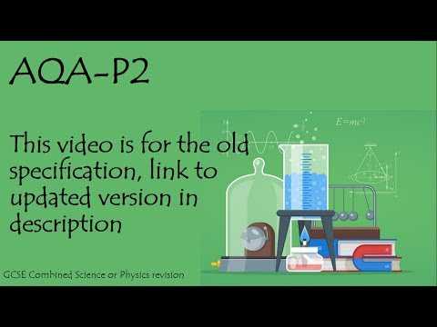 The whole of AQA P2 in only 39 minutes!!! GCSE Physics or Additional Science Revision.