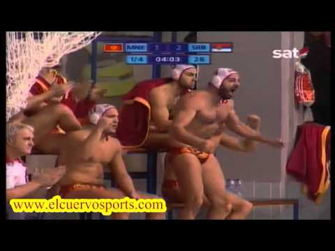 Montenegro 10 Serbia 12 World League 2016 water polo