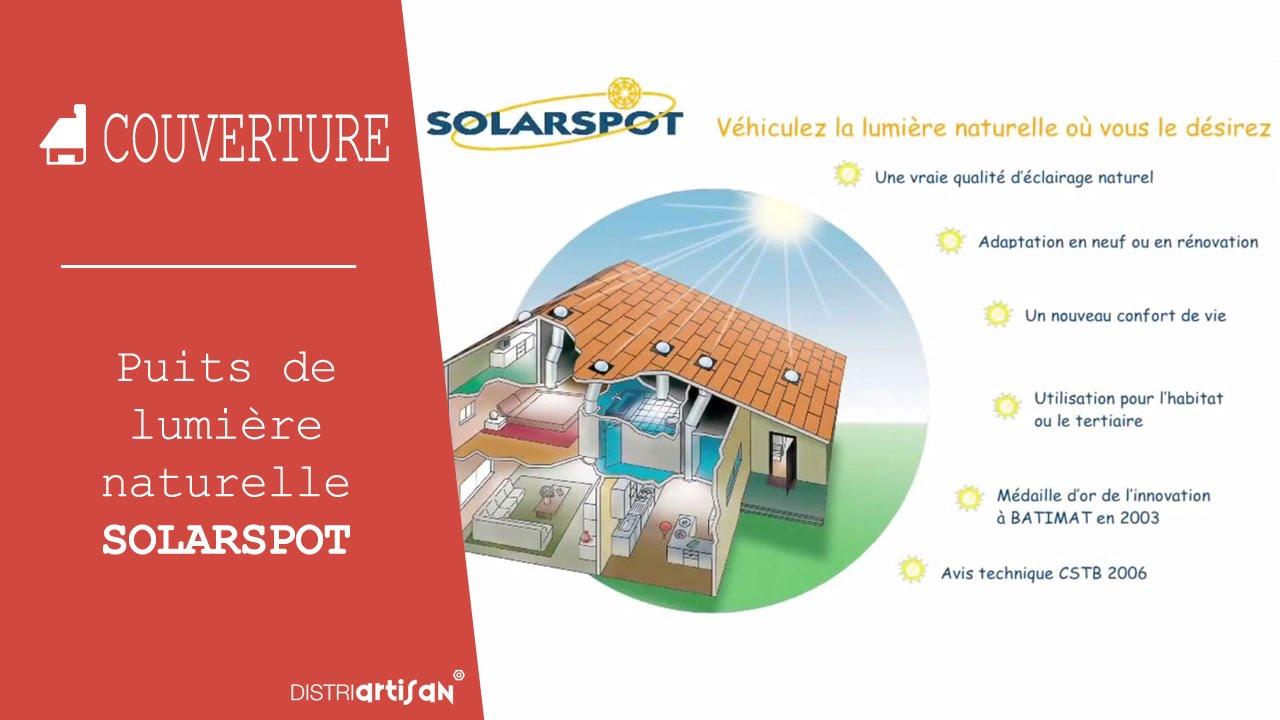 kit puits de lumi re solarspot youtube. Black Bedroom Furniture Sets. Home Design Ideas