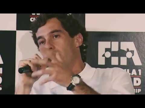Entrevista final de Ayton Senna en la pelicula SENNA