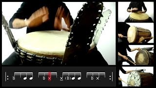 DJEMBE Tutorial | LIQUID Playing
