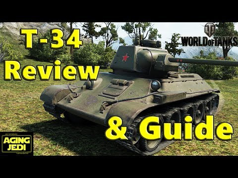 T-34 Medium Tank Review & Guide - World of Tanks