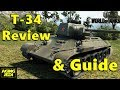 World of Tanks - T-34 Medium Tank Review & Guide
