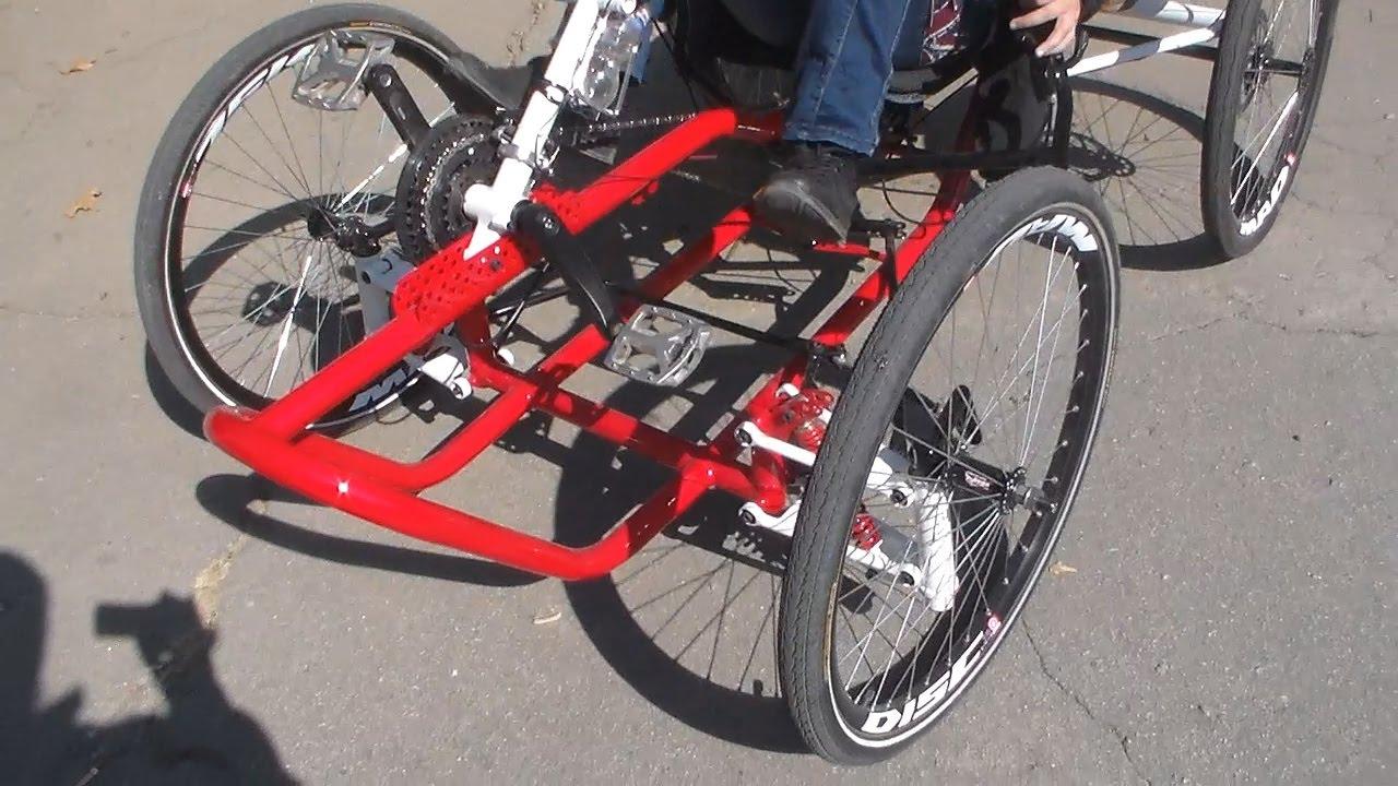 Сделать своими руками из велосипеда трайк фото 835