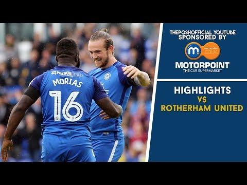 HIGHLIGHTS   The Posh vs Rotherham United