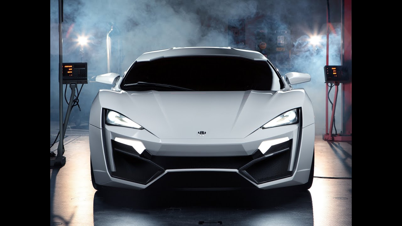 Lykan Hypersport Top View >> W Motors Lykan Hypersports 3 4 Million Youtube