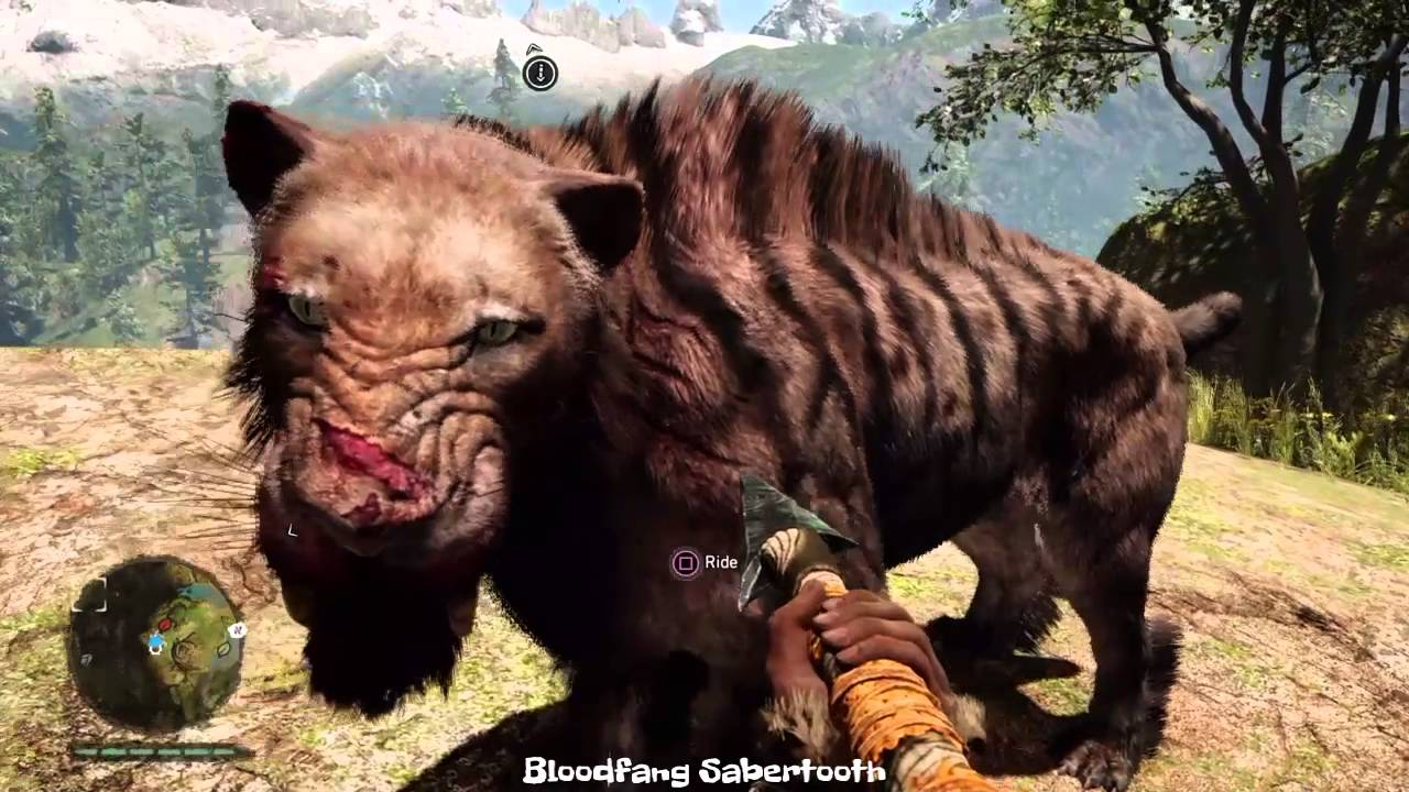 Far Cry Primal All The Pet Animals Youtube