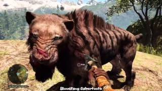 Far Cry Primal - All the Pet Animals