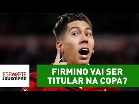 FIRMINO MITA Em Liverpool 5 X 2 Roma! Vai Ser TITULAR Na Copa?