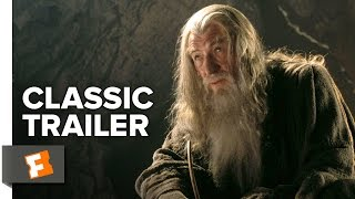 The Lord of the Rings: The Fellowship Of The Ring (2001) Official Trailer #2 - Elijah Wood Movie HD