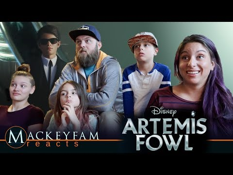 Disney's Artemis Fowl - Teaser Trailer- REACTION and REVIEW!!