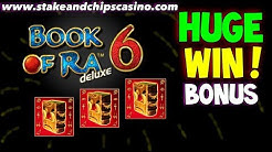BIG WIN !! BOOK OF RA 6 SLOT 🚨 CASINO BONUS ROUND !!