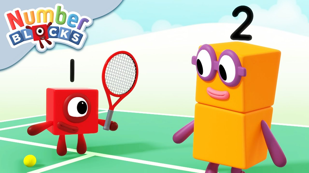 @Numberblocks   Sports, Sports, Sports 🚴🏊♂️🏃♂️🏅🥇   Learn to Count