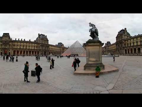 360 VR Tour | Paris | Louvre | Louvre Palace | Louvre Pyramid | Outside | VR Walk | No comments tour