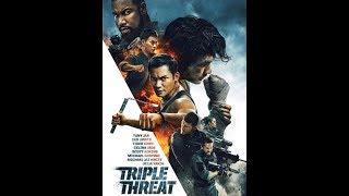Тройная угроза (Triple Threat) - 2019. Обзор фильма. Скотт Эдкинс, Тони Джа.