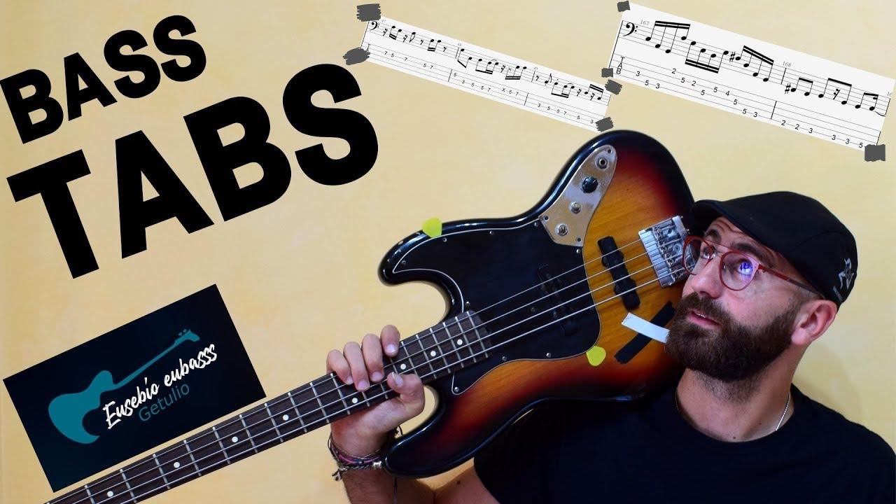 Bass transcriptions   Soundslice