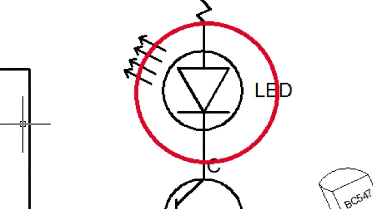 How to make LDR Darkness Sensor Circuit Simple DIY - YouTube