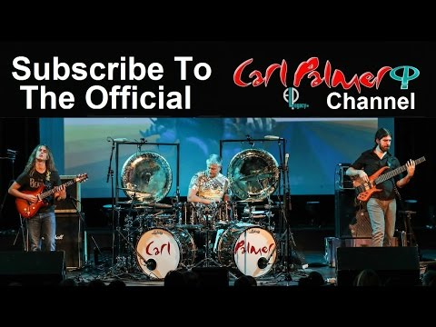 Carl Palmer  ELP Legacy Performing   Fanfare for the Common Man-Incredible Drum Solo
