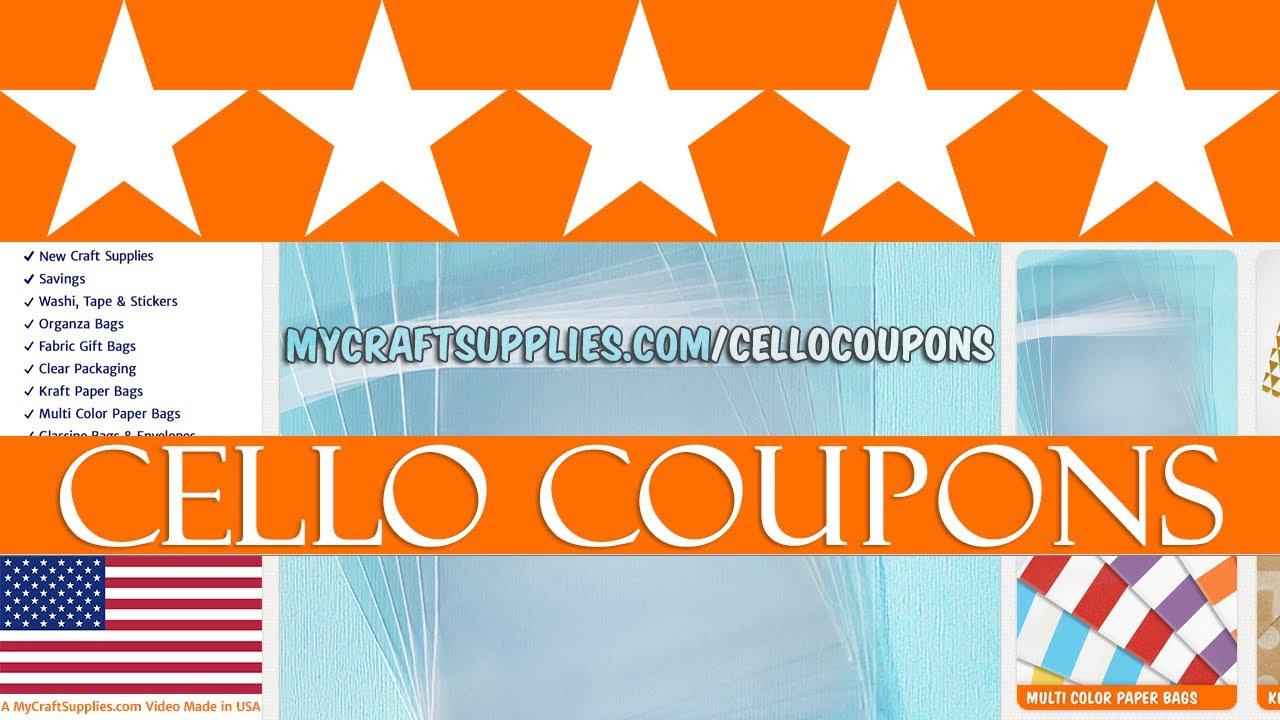 Your Cello Bags Coupon Code