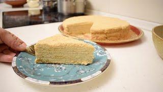 Медовый торт (Медовик) / Простой и вкусный рецепт медовика