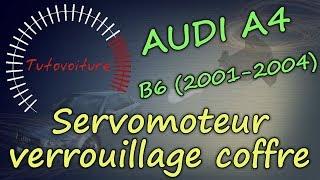 Changer son servomoteur de coffre - AUDI A4 (B6)