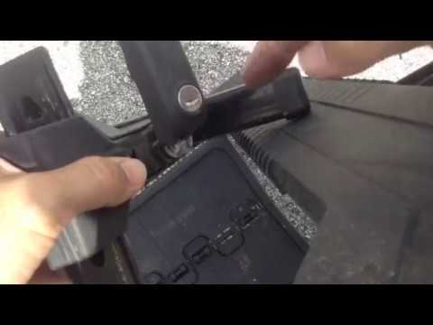 How To Remove Thule Lock Cores Without A Control Key Youtube