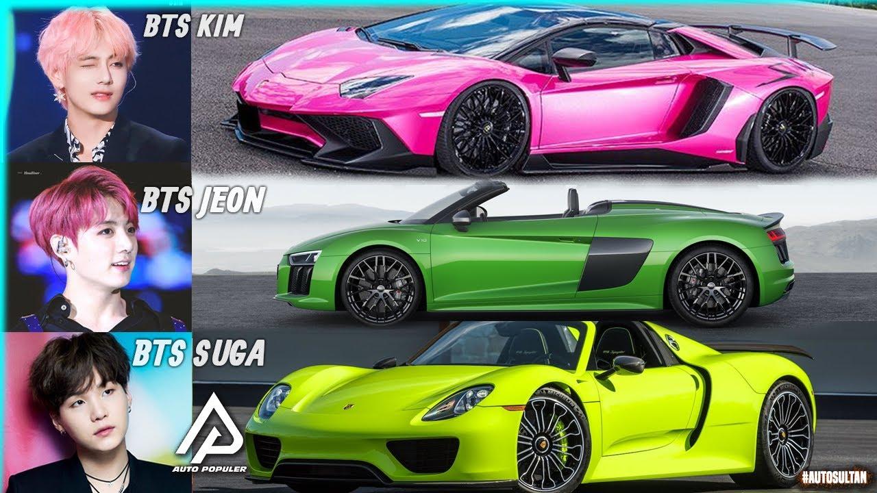 Boyband Tersohor Di Dunia Begini Koleksi Mobil Member K Pop Bts Yang Mempunyai Gaji Fantastik Youtube