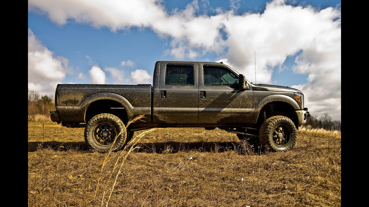 2011 Ford F250 Super Duty Offroad And Mudding At Mt Carmel