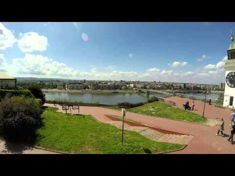 time lapse of Petrovaradin Fortress, Petrovaradinska tvrđava