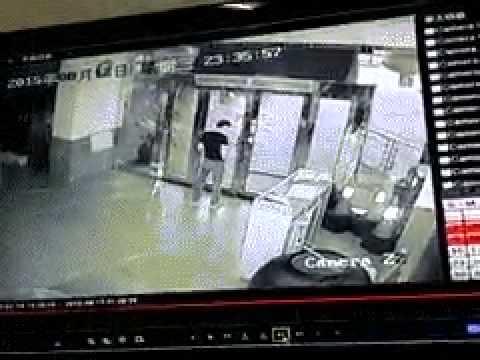 Câmera de segurança grava momento da #explosão da #China (#Tianjin)