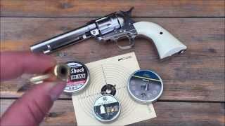 colt single action army 45 peacemaker 4 5mm bb das diabolo experiment