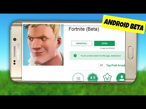 Fortnite Mobile ANDROID BETA Was FOUND (Fortnite Mobile Android Release Date Download Gameplay News)