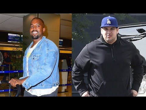 Kanye West Is Behind Rob Kardashian's Weight Loss, Find Out How The Rapper Has Been Motivating Him!