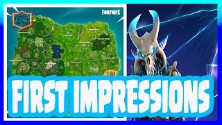 Fortnite Season 5 Review & First Impressions | New Map, New Locations, New Vehicle & Season Pass