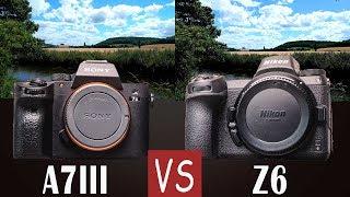 COMPARAISON Nikon Z6 vs Sony A7III - TANT de DIFFERENCES ??