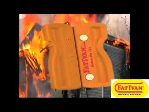 Fat Ivan The World S First Fold Up Door Chock Youtube