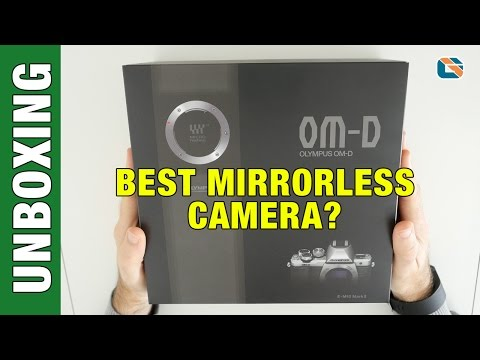 Olympus OM-D E-M10 II Unboxing & First Look #Olympus