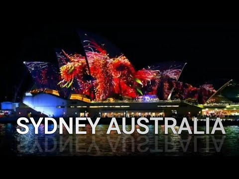 VIVID FESTIVAL AT SYDNEY OPERA HOUSE. Must WATCH!!! Most Beautiful Night In Sydney