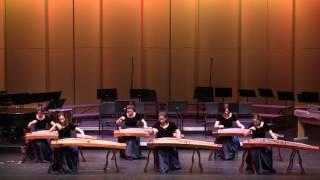 Guzheng Ensemble 《Beautiful Flowers on the Mountain》NW Guzheng Ensemble of SCO